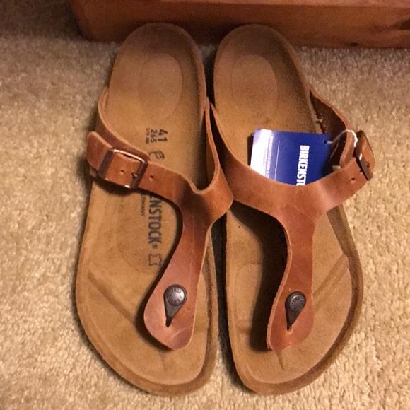 dcdf38c32e54 Birkenstock Shoes - Birkenstock Gizeh Brown size 10